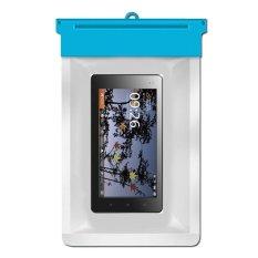 Zoe Huawei IDEOS S7 Slim Waterproof Bag Case - Biru