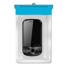 Zoe Huawei U8150 IDEOS Waterproof Bag Case - Biru