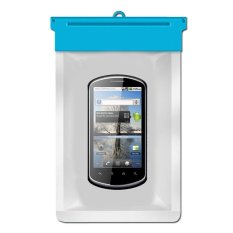 Zoe Huawei U8800 IDEOS X5 Waterproof Bag Case - Biru