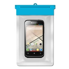 Zoe Lenovo A369i Waterproof Bag Case - Biru