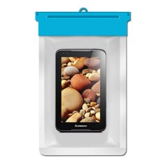 Zoe Lenovo IdeaTab A1000 4GB Waterproof Bag Case - Biru
