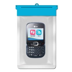Zoe LG C375 Cookie Tweet Waterproof Bag Case - Biru