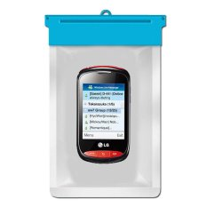Zoe LG Cookie Style T310 Waterproof Bag Case - Biru