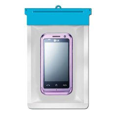 Zoe LG KM900 Arena Waterproof Bag Case - Biru