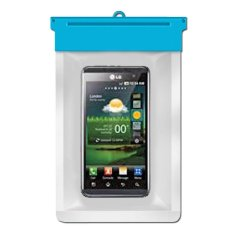 Zoe LG Optimus 3D P920 Waterproof Bag Case - Biru