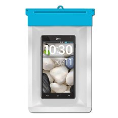Zoe LG Optimus G E970 Waterproof Bag Case - Biru