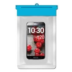 Zoe LG Optimus G Pro Waterproof Bag Case - Biru