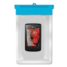 Zoe LG Optimus L1 II E410 Waterproof Bag Case - Biru