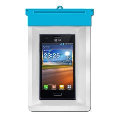 Zoe LG Optimus L5 E610 Waterproof Bag Case - Biru