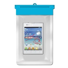Zoe LG Optimus Vu P895 Waterproof Bag Case - Biru