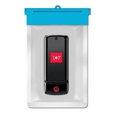 Zoe Motorola KRZR K1 Waterproof Bag Case - Biru