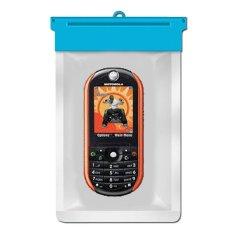 Zoe Motorola ROKR E2 Waterproof Bag Case - Biru