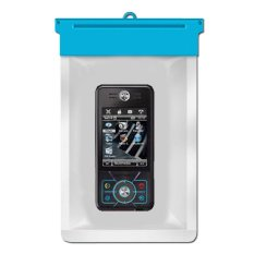 Zoe Motorola ROKR E6 Waterproof Bag Case - Biru
