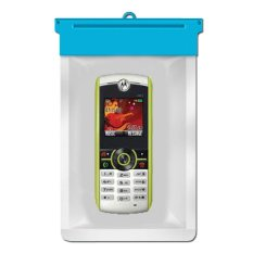 Zoe Motorola W231 Waterproof Bag Case - Biru