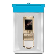 Zoe Nokia 8800 Gold Arte Waterproof Bag Case - Biru