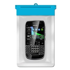 Zoe Nokia E6 Waterproof Bag Case - Biru