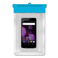 Zoe Smartfren Haier Maxx Waterproof Bag Case - Biru