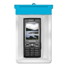 Zoe Sony Ericsson K800 Waterproof Bag Case - Biru