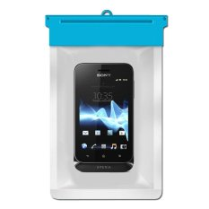 Zoe Sony ST21i Xperia tipo Waterproof Bag Case – Biru