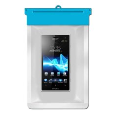 Zoe Sony Xperia acro S Waterproof Bag Case - Biru