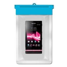 Zoe Sony Xperia U Waterproof Bag Case - Biru