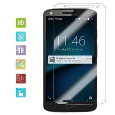 Zoeirc 9 H HD Clear Tempered Glass Screen Protector Film untuk Motorola Droid Turbo 2/MOTO X Force- INTL