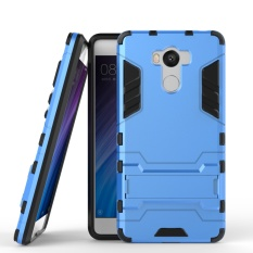 Zoeirc Hybrid Kickstand Rugged Rubber Armor Hard PC+TPU 2 In 1 With Stand Function Cover Cases for Xiaomi Redmi 4 Pro / 4 / 4 Prime - intl