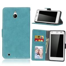 Zoeirc Protective Stand Wallet Purse Credit Card ID Holders Magnetic Flip Folio TPU Soft Bumper Leather Case Cover for Nokia Microsoft Lumia 850 - intl