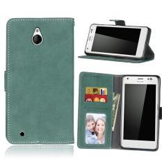 Zoeirc Pelindung Berdiri Dompet Dompet Kartu Kredit Pemegang Magnetic Flip Folio TPU Lembut Bumper Kulit Case Penutup untuk Nokia Microsoft Lumia 850-Intl
