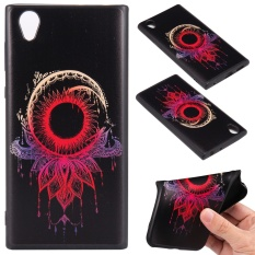 Zoeirc Slim Thin Soft Silicone Gel TPU Case Special 3D Relief Printing Pattern Design Scratch Resistant Full Protective Back Cover for Sony Xperia L1 / E6