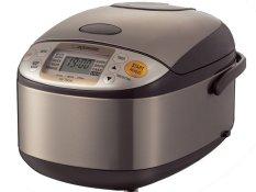 Beli Zojirushi Ns Tsq10 Digital Rice Cooker Silver Dark Brown Terbaru