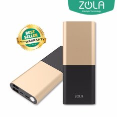 Top 10 Zola International Alloy Powerbank 10000 Mah Metal Fast Charging 2 1A Gold Online