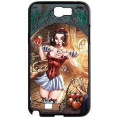 Zombie Art Series,Samsung Galaxy Note 2 Case,Fairytale Heroine Zombie Phone Case For Samsung Galaxy Note 2[Black] - intl