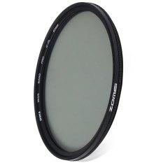 Beli Zomei 67Mm Ultra Tipis Cpl Circular Polarizer Glass Filter Lens Hitam Baru