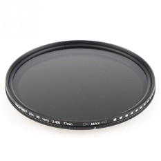 Zomei 77mm Ultra Slim ND2-ND400 Filter Reduction WithAdjustableLight Stepless Zero Distortion - intl