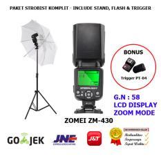 Zomei Flash ZM-430 Paket Strobist Komplit dan Murah for Canon-Nikon