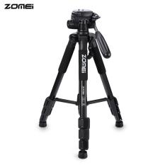 Zomei Q111 56 Inches Ringan Profesional Kamera Video Aluminium Tripod dengan Casing (Hitam)