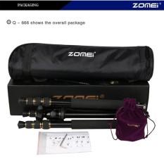 Zomei Q666 Kamera Tripod Aluminium Bola Kepala untuk SLR DSLR Kamera Hitam-Internasional