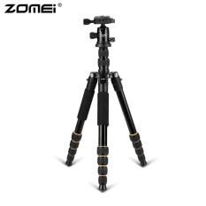 Zomei Q666 Kamera Profesional Tripod Ringan Portable Aluminium Monopod Hitam-Intl