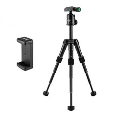 ZOMEI ZM-CK30-BLACK Compact Portable Aluminum Alloy Desktop Tripod Mini Tripod With Ball Head For Sony A6500 Nikon Canon D3300 EOS Rebel T5 Nikon D3400 DSLR Mirrorless Camera, Black - intl