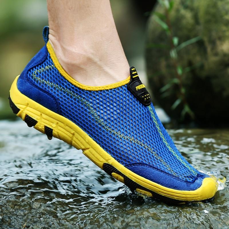 Jual Zoqi Pria Outdoor Sport Shoes Pria Sepatu Air Biru Intl Zoqi Asli