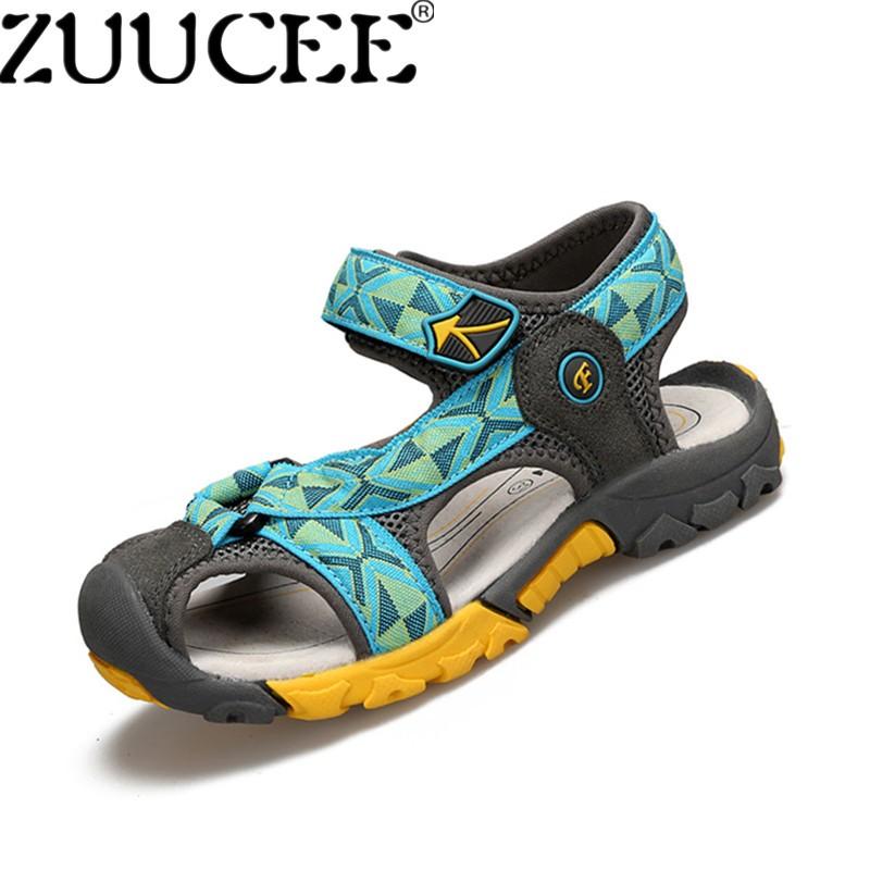 Toko Zuucee Anak Laki Laki Fashion Kasual Sandal Sepatu Anak Musim Panas Nyaman Datar Sepatu Moonlight Intl Online Tiongkok