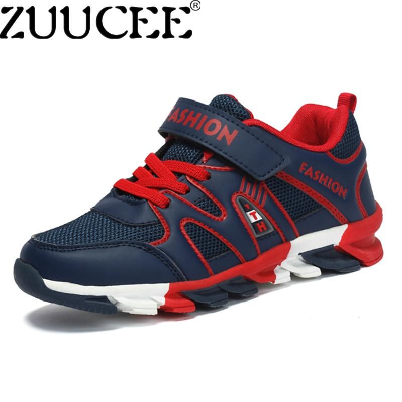 Zuucee Anak Laki-laki Kasual Olahraga Sepatu Luar Ruangan Tunggal Bernapas  Sepatu Anak Sepatu ( a095795b46