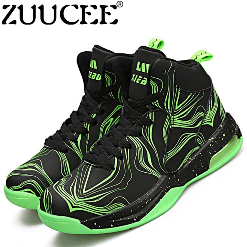 Zuucee Mode untuk Wanita Olahraga Luar Ruangan Sepatu Basket Pecinta  Berjalan Tinggi-Top (Hitam 499719bf25
