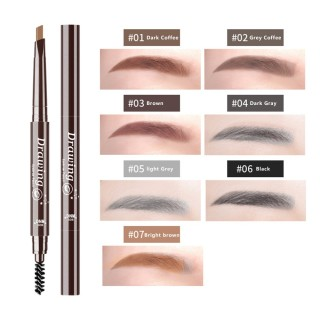 Dnm Pensil Alis Otomatis 2 Arah - DNM 7 Colors Automatic Eyebrow Pencil Alis Waterproof Ukuran 36mm - DNM Drawing - DNM Eyebrow Pencil - DNM Pinsil Alis thumbnail