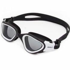 Review 2016 New Panoramic Silicone Swimming Goggles Dengan Asap Lens Cf 7200 Biru Merek Whale Whale