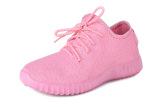 Beli 2016 Baru Sepatu Rekreasi Sepatu Fashion Fabric Warna Fly Olahraga Sepatu Pink Oem Dengan Harga Terjangkau
