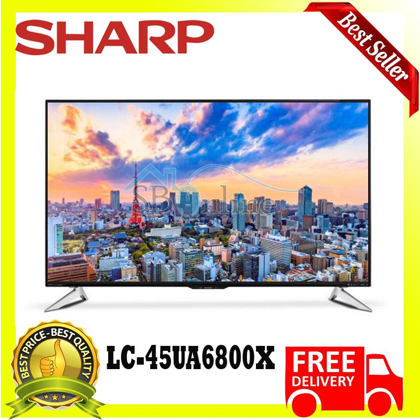 TV LED SHARP LC-45UA6800X