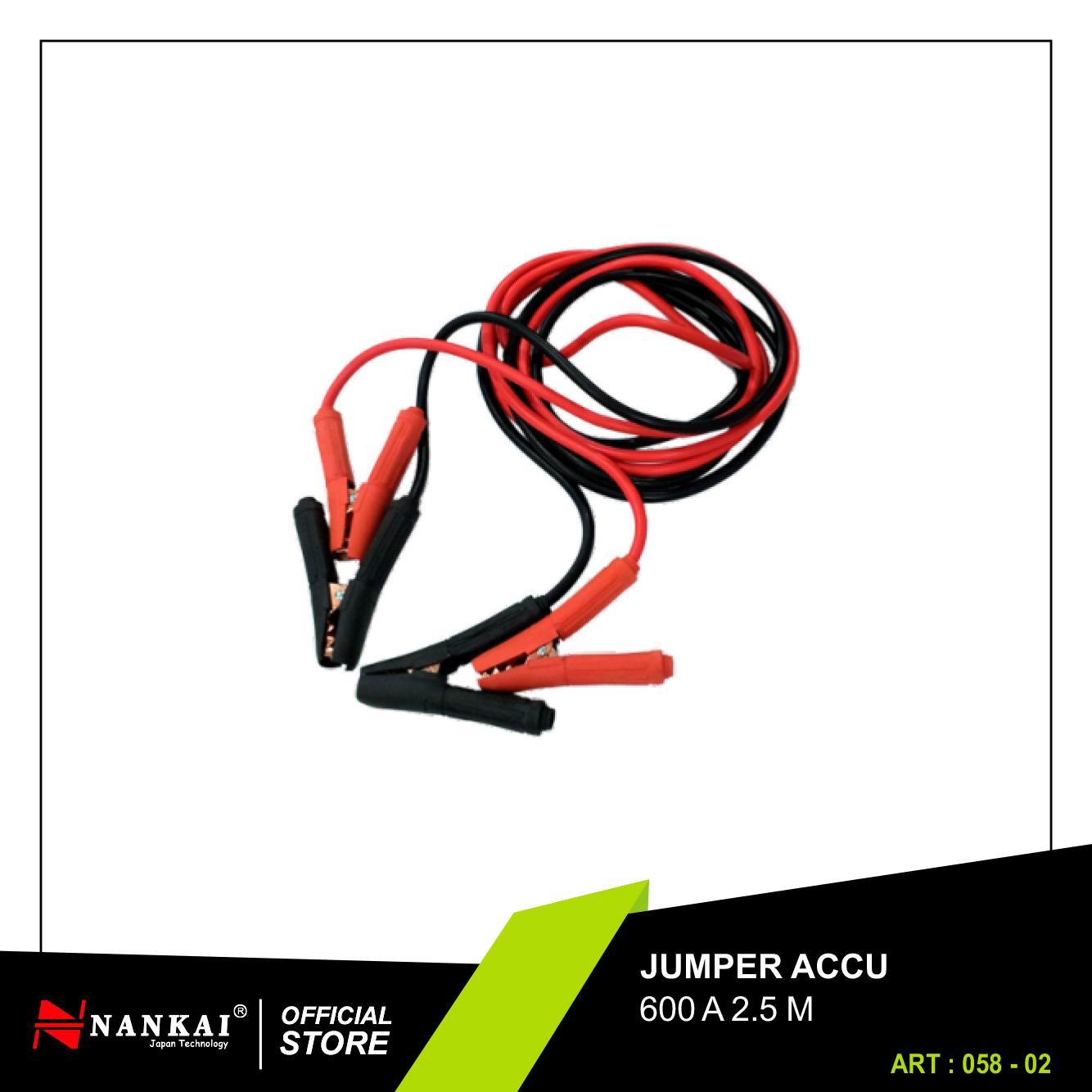Perkakas Nankai Jumper Accu - Kabel Aki 600A Perkakas Tool