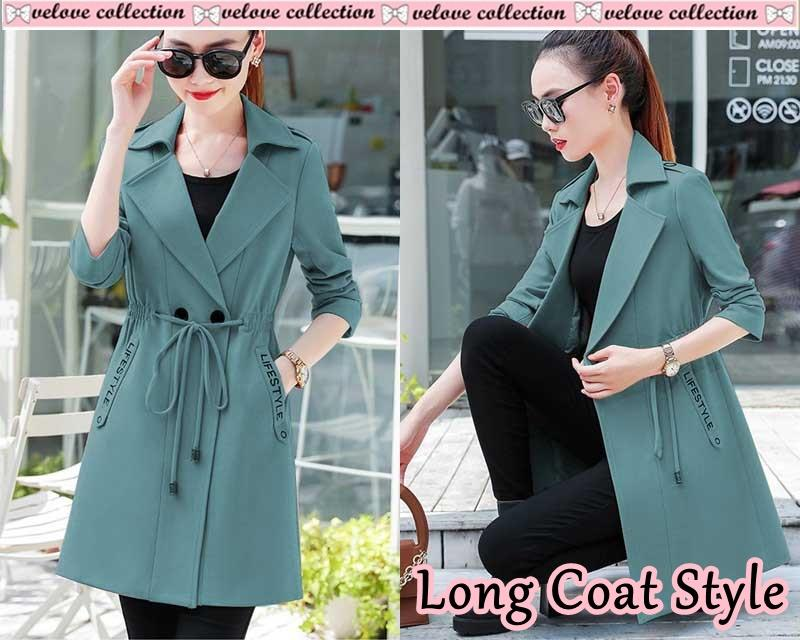 godwin collection Long coat style  fashion wanita  muslim  fashion muslim   atasan wanita beb1689da9